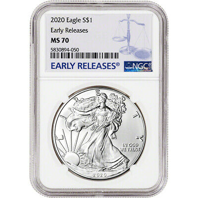 2020 American Silver Eagle - NGC MS70 - Early Releases