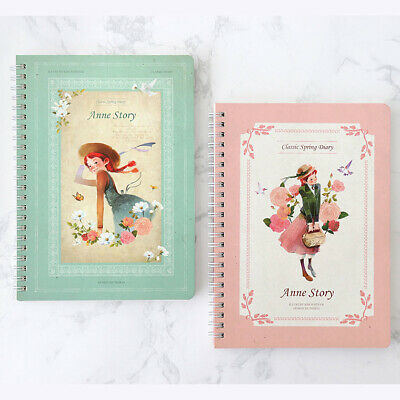 Anne Story Monthly Planner Unique Illustrated Diary Scheduler Organizer Book