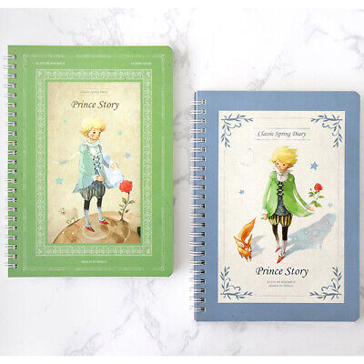Little Prince Monthly Planner Unique Illustrated Diary Scheduler Organizer Book