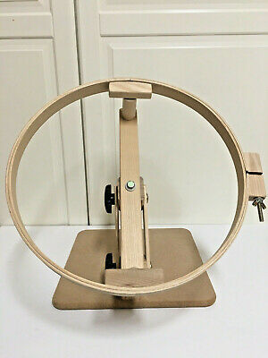 Hinterberg Design Adjustable 14 Lap Hoop Frame Stand Quilting Embroidery