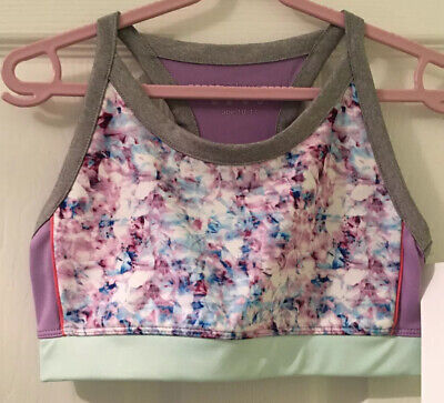 Girls Sports Crop Top Age 10-11 Dance