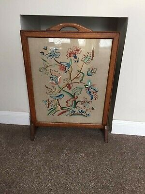 Firescreen Embroidery Arts & Crafts -