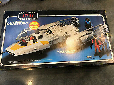 Star Wars Return of the Jedi Y-Wing Fighter Untouched Kenner 1983 La Guerre