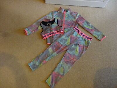 Next Girls Sportswear Outfit, Zip Through, Top, Leggings - Age 7 - 9 Years