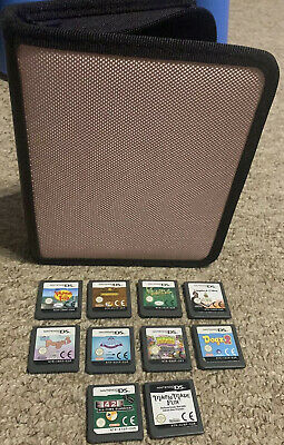 Joblot Nintendo DS Games With Case Tinkerbell Plus More