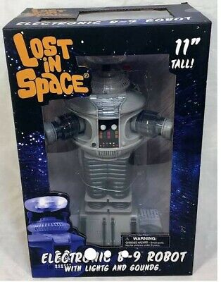 LOST IN SPACE Diamond Select Electronic B-9 Robot Lights/Sounds NEWFree shipping
