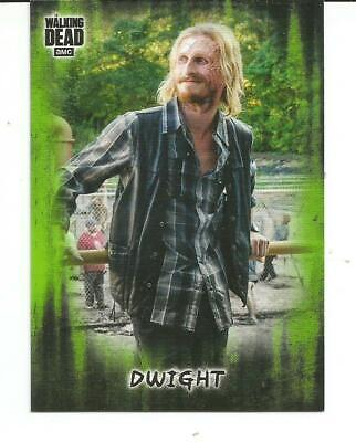 2018 Topps/Amc Walking Dead Hunters & The Hunted Dwight Green Parallel #22/25