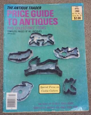 The Antique Trader Price Guide To Antiques, Cookie Cutters, April 1984