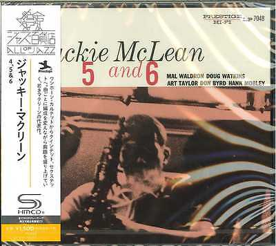 Jackie Mclean-4, 5 And 6 -Japan Shm-Cd C94