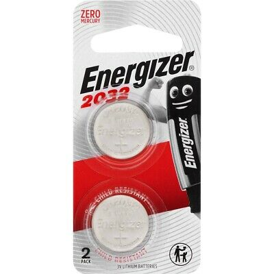 Energizer 2032 -  3V Lithium Coin/Button Cell Batteries  Zero Mercury FREE POST!
