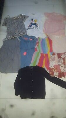 Girls NEXT summer bundle , 8yrs , playsuits , dresses , blouse , cardigan , tops