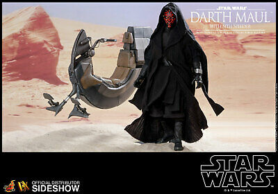 Star Wars~Ep-1~Darth Maul / Sith Speeder~Sixth Scale Figure~Dx17~Hot Toys~Mibs