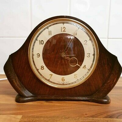 Smith's Sectric Electric 1950's Mantel Clock Fully Working