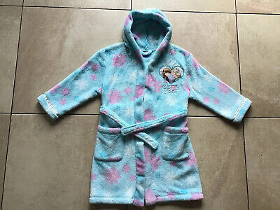 Girls MINI CLUB @ BOOTS Disney Frozen dressing gown house coat robe aged 3/4...
