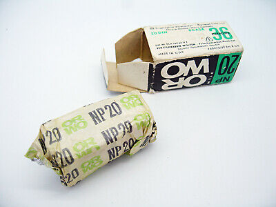 Sealed NEW ORWO NP20 35mm 20DIN 80ASA PANCHROMATIC Camera Photo Film B&W EXP '77