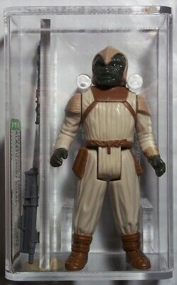 1983 Star Wars Klaatu Skiff Guard Afa 90 Nm+/Mt No Coo Kenner Action Figure