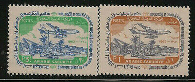 Saudi Arabia Scott    277  -  278   Mint Never Hinged