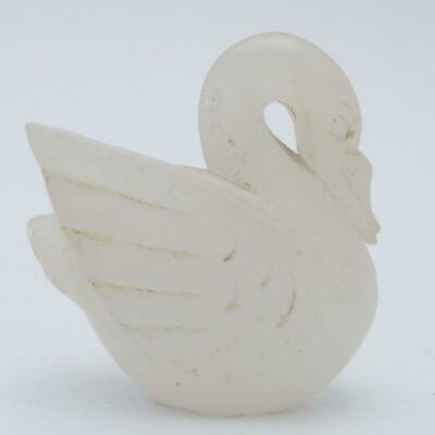 Chinese Carved Hardstone Figure Of A Swan