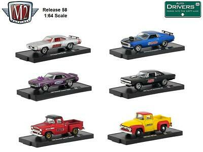 New M2 Machines Auto Drivers Release 61 Diecast Cars 1:64 Scale
