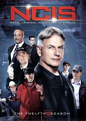 NCIS NAVAL CRIMINAL INVESTIGATIVE SERVICE THE TWELFTH SEASON 12 New 6 DVD Set