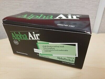 50pc Medical Surgical High Filtration Earloop Mask Alpha Air
