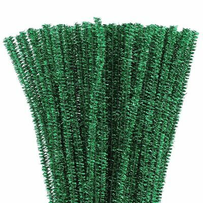 Juvale Green Chenille Stems Pipe Cleaners for DIY Crafts (500 Count)