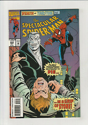 Spectacular Spider-Man #139 FN 1988 Stock Image