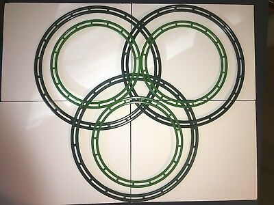 "Lot of 6 Dinihanian ""Super Tough"" Wreath Frames ● 3 @ 10"" ● 3 @ 14"" ● Green"
