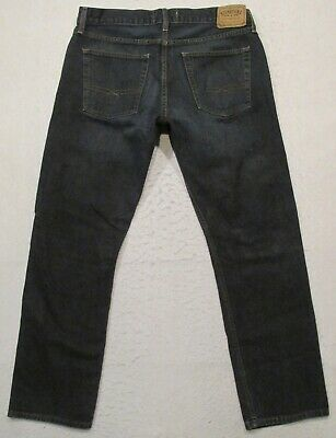 Mens Levi Strauss Signature Slim Straight Jeans Size 36 X 32