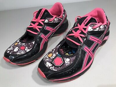 Asics Gel Hello Kitty Special Edition Sanrio Athletic Shoes H06LQ Women's Sz 8.5