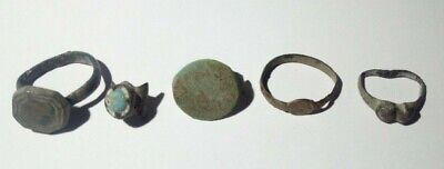 Ancient Artifacts Of The Greek Empire. Rings.