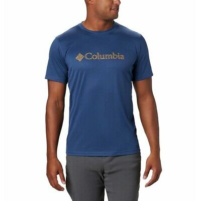 COLUMBIA Zero Rules SS Graphic Shirt Carbon CSC 1533291 472/