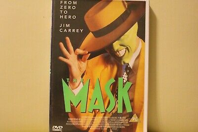 The Mask DVD Jim Carrey Royal Mail 1st Class FAST & FREE