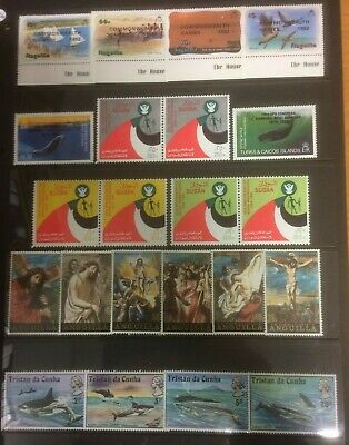 Commonwealth - 5 Mint Sets Including Mnh