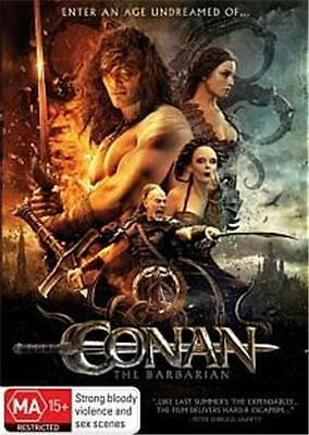 Conan The Barbarian 2011 : New Dvd