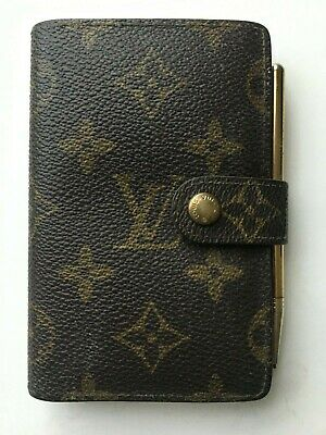 Authentic Louis Vuitton Monogram Mini Agenda & Address With Mechanical Pencil