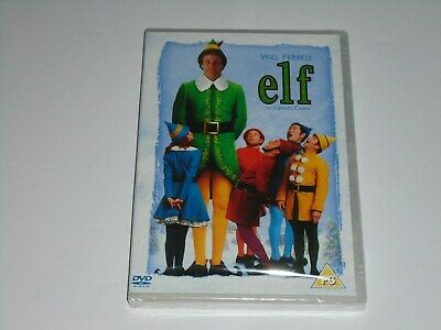 ELF DVD (Region 2) NEW SEALED Will Ferrell James Caan Zooey Deschanel Christmas