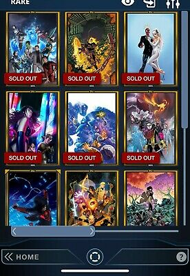 Topps Marvel Collect Lot Of 14 GOLD New Comic Book Day NCBD Widow, Spider, etc.