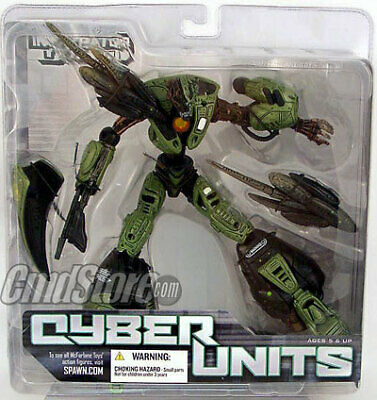 VERDE SPAWN CYBER UNITS 001 McFarlane NUOVO NEW McFarlane Toys BATTLE GREEN