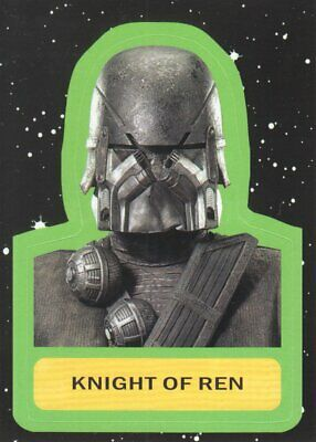 2019 Star Wars Journey to The Rise of Skywalker Stickers #CS-15 Knight of Ren