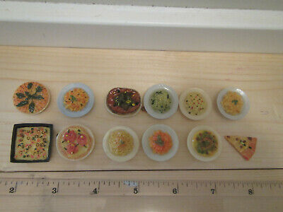 6pc Tiny Miniature dollhouse barbie Macaroni and cheese noodle loose food pasta