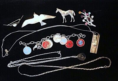 Mixed Lot Sterling Jewelry+, 58 Grams
