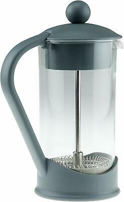 French Press Coffee Maker Gray Manual No Electricity Required!