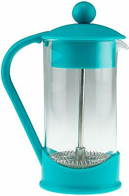 French Press Coffee Maker Teal Manual No Electricity Required!