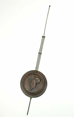 "Cuckoo Clock Pendulum - Nice Antique Clock Part 15-15/16"" Long!- Gg503"