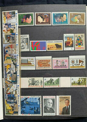 1973 US Mint Year Set - 33 Commemorative Stamps MNH Lot - STAMPS ONLY
