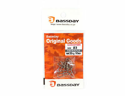 Bassday Ultra Snap Strong Stainless Steel #3 (5465)