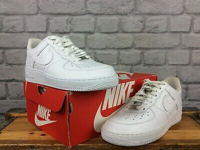 Air Force 1 Red And White Mid Mens Womens Nike AF1 315123 126