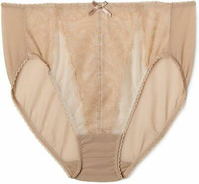 New Wacoal 845184 Cappucino Captivation Hipster Knickers XL RRP £54