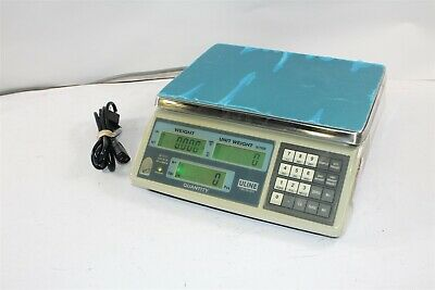 ULine H-1117 Capacity 65lb x .005lb Industrial Counting Scale